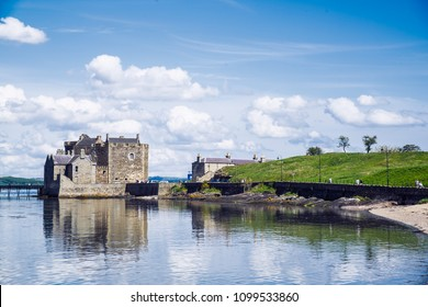 Blackness Castle on the Firth of Forth, near Linlithgow, Scotland, UK. The castle has been a film and TV location for Hamlet, Ivanhoe and most recently Outlander.
