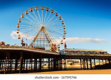 Blackpool Central Pier Ferris Wheel