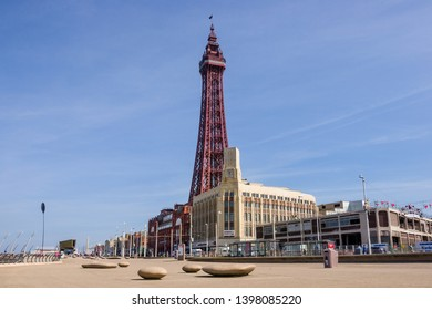 Blackpool  England 14th May 2019: Blackpool Tower on the 125th anniversary of opening