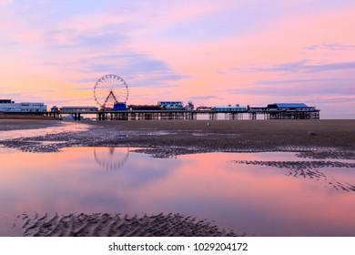 Blackpool Sunrise, England