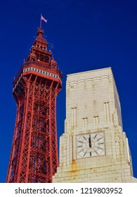 Blackpool Tower and Art Deco Building