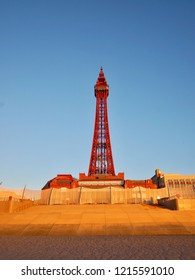 Blackpool Tower And Promenade.