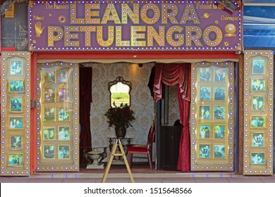 Blackpool,Lancashire/England - 23.09.2019 - Leanora Petulengro the famous palm reader and psychic