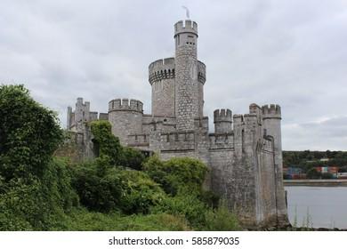 Blackrock Castle Cork Ireland side view