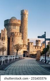 Blackrock Castle on the banks of the River Lee in Cork city, Ireland.