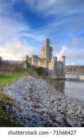 Blackrock Castle on the banks of the river. Cork city, Ireland.