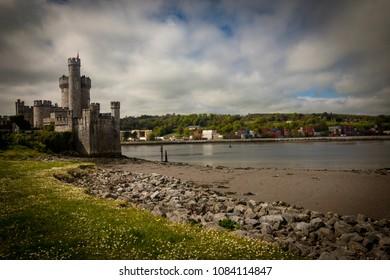 Blackrock Castle on sunny day. Cork,Ireland