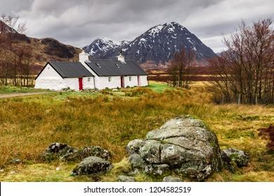 Blackrock Cottage, Glencoe, Scotland