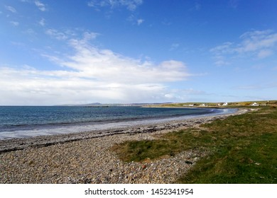 Blackrock and Loch Indaal on the Isle of Islay in Scotland