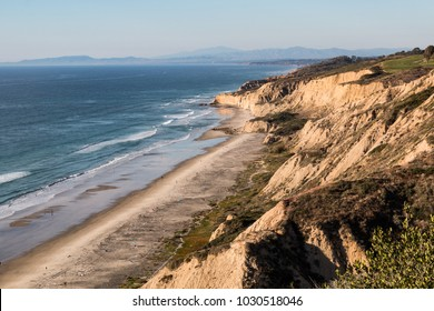Black's Beach in San Diego, California, one of the largest nude beaches in the United States.