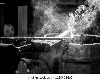 Blacksmith and Farrier work Gold Coast Queensland Australia June 2018