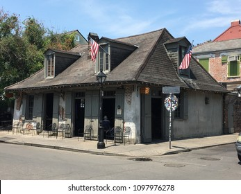 Lafitte's blacksmith house