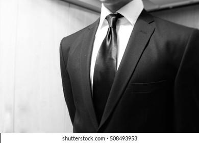 Black/White suit