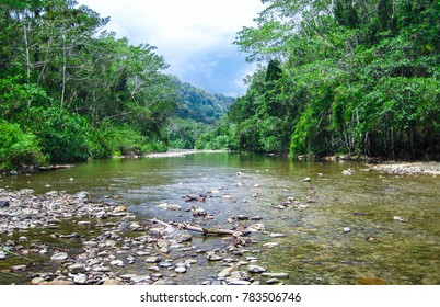 The Bladen River flows through one of the most biodiverse and untouched pieces of land in Central America. Photographed in central Belize.