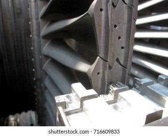 blades of the gas turbine engine