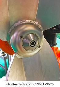 Blades of submersible mixers.