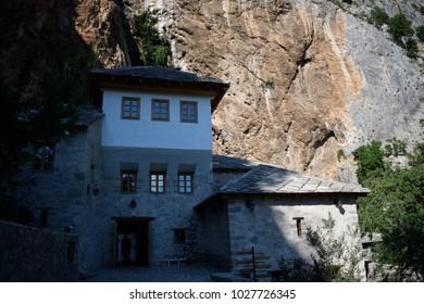 Blagaj Tekke in Blagaj, Bosnia and Herzegovina