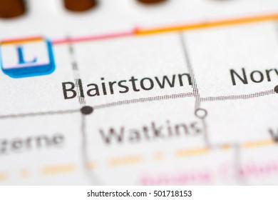 Blairstown. Iowa. USA.