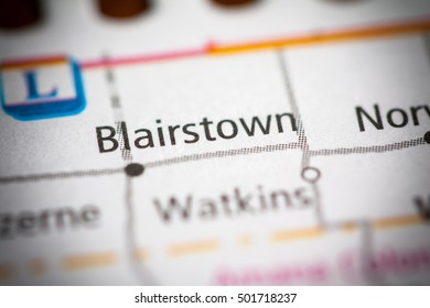 Blairstown. Iowa. USA.