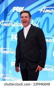 Blake Lewis at the American Idol Season 12 Finale Arrivals, Nokia Theater, Los Angeles, CA 05-16-13