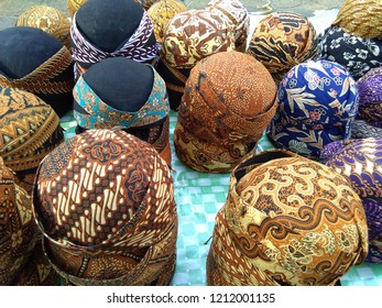 Blangkon is a headgear made of batik cloth used in traditional ceremonies
