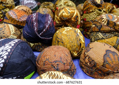 Blangkon is a traditional hat from Java Indonesia