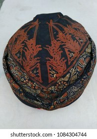 Blangkon is a traditional hats Javanese society used during the ceremony of Java