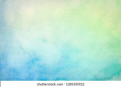 Blank Abstract light watercolor paper background with space for copy space.