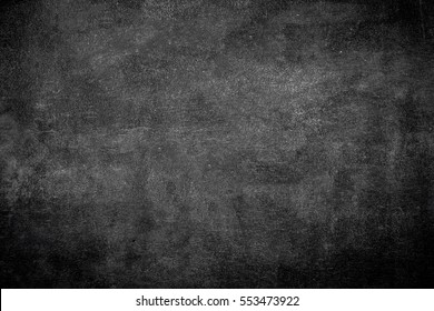 Blank area school chalkboard texture back side board. Write Chalk grunge smudge effect on wall table background concept for retro blackboard drawing slate, child back to school on summer term.