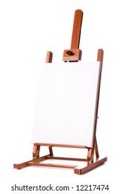 Blank Artist Easel