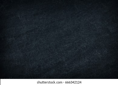Blank Background with Chalk Rubbed out on Blackboard.Abstract dark of Black grunge texture background.Blank Background for Education and school concepts.