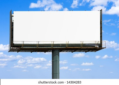 """blank banner for your ad  -  of """"Billboards"""" series in my portfolio"""