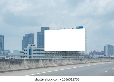 Blank billboard for new advertisement.