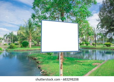 blank billboard on a street wall, banners with room to add your own text.