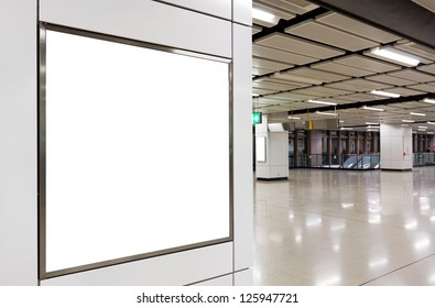 blank billboard for your advertising