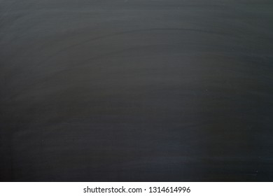 blank blackboard background with streaks from being cleaned