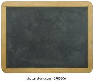 Blank blackboard. Write your message!