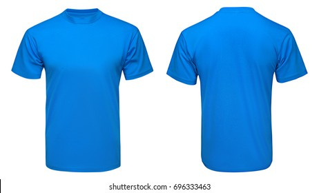 Blue T Shirt Mock Up Images Stock Photos Vectors Shutterstock