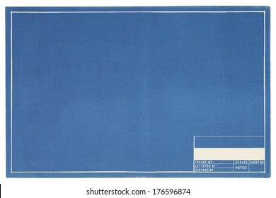 Blueprint paper images stock photos vectors shutterstock blank blueprint project page with copy space malvernweather Images