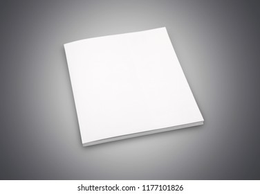 Blank book cover on black wooden  background