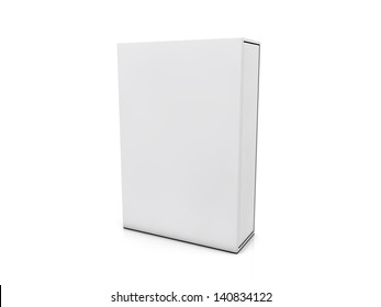 blank boxes isolated on white background