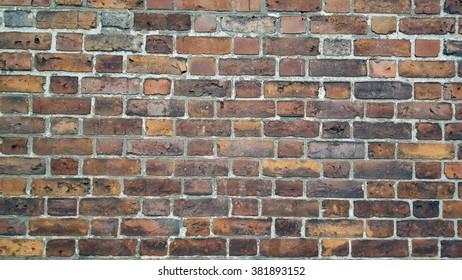 Blank Brick wall background