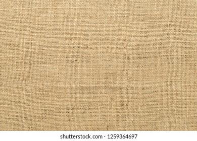 Blank burlap fabric background.