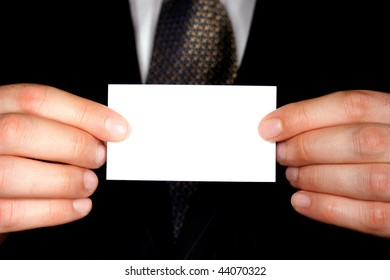 Blank Business Card - Add Your Own Text