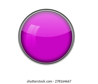 Blank button illustration.