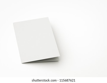 blank card, to replace message or image on cover.