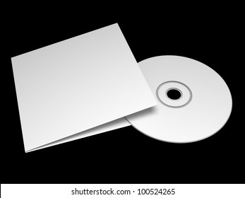 Blank compact disc with cover