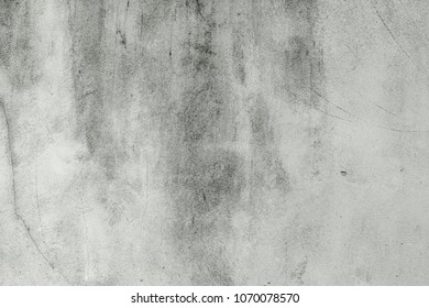 The blank concrete wall white color for texture background