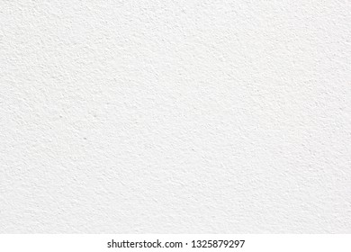 Blank concrete wall white color for texture background.