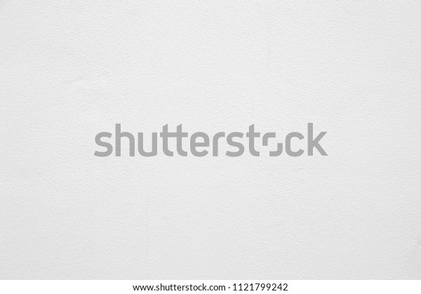 Blank concrete white wall texture with crack